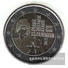 Slowenien 2011 Stgl./unzirkuliert 2011 2 EURO Franc Rozman