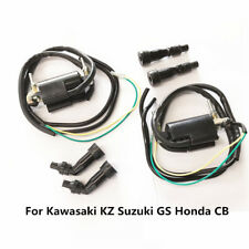 Motorcycle Ignition Coil Set 12V for Kawasaki KZ Suzuki GS Honda CB 650 750 900