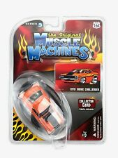 The Original Muscle Machines 1970 70 Dodge Challenger Car Orange Die Cast 1/64