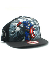 New Era Classic Captain America 9fifty Snapback Hat Adjustable Marvel Avengers