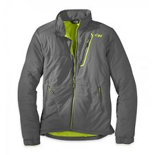 *Outdoor Research Superlayer Jacket Med Pewter/Lemongrass NWT $225
