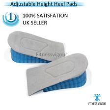 Gel Heel Lifts Height Increase Insoles Honeycomb Shoe Inserts Adjustable Pads UK
