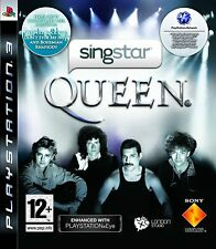 Sony ps3 PlayStation 3 juego SingStar Queen nuevo * New