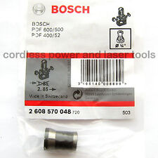 "BOSCH 1/4"" 6.4mm Collet Chuck POF 52 400 500 600 Router & GGS 27 2 608 570 048"