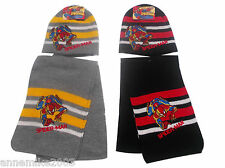 BNWT BOYS spiderman warm winter hat and scarf christmas gift 2-4 & 4-6 Years