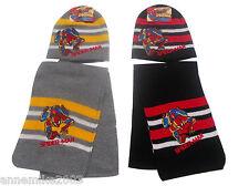 BNWT BOYS spiderman warm winter knit hat scarf set christmas gift 2-4 & 4-6 YRS