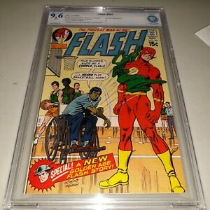 FLASH #201 CBCS 9.6 (not CGC) 1970 - Carmine Infantino & Murphy Anderson cover