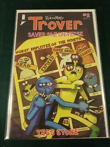 Rick and Morty: Trover Saves the Universe #2 Image Comic 202 NM X-Men Swipe