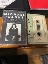 MICHAEL FRANKS THE ART OF TEA Cassette Tape