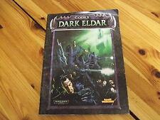 Codex Eldar Oscura Warhammer 40,000 40k GW