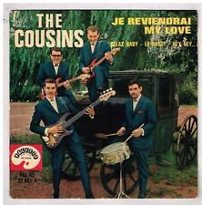 """The COUSINS   Je reviendrai my love     7"""" EP 45 tours"""