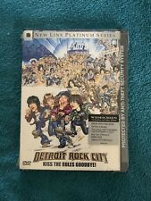 Detroit Rock City Brand New Dvd Sealed Widescreen Comedy Rare Kiss Movie