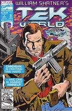 US COMICPACK William Shatner's Tek World 1+4+5+8-14 Marvel 1992 englisch SPX