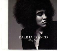 (DP726) Karima Francis, Glory Days - 2012 DJ CD