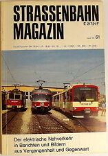 Tranvía Revista Folleto 61 Agosto 1986, S. 161-240 Franckh'sche Editorial Acción