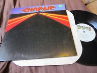 CHARLIE S/T Mirage orig LP PROMO nm it's inevitable '83