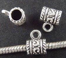 150pcs Tibetan Silver Beautiful Bails 11.5x9x7mm 8011