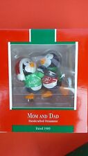 Hallmark 1989 Mom And Dad Ornament