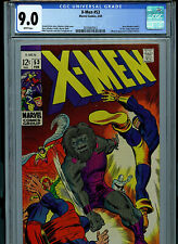 X-Men #53 CGC 9.0 VF/NM 1969 Marvel Comics Amricons K28