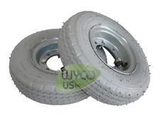 2 Pneumatic Wheels Tennant Scrubbers 5400 5300 A5 Repl 1059452 630215