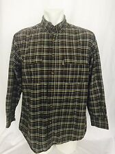 Woolrich Long Sleeved Plaid Shirt. Men's Large. Great Condition.