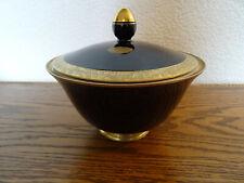 Ilmenau Graf von Henneberg - Porzellan Deckeldose Bonboniere Kobalt Gold