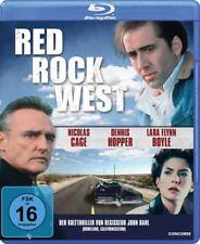 RED ROCK WEST - BLU RAY Region B  - Nicolas Cage, Dennis Hopper