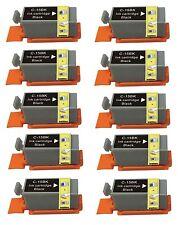 10 Nero Cartucce D'inchiostro Per Stampante Compatibile Per Canon Pixma ip90 i70 80