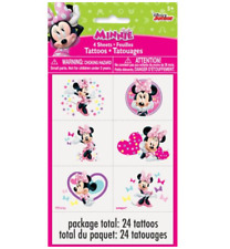Disney Junior Minnie Mouse Temporary Tattoo - 4 sheets, 24 tattoos