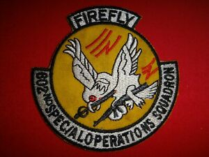 Vietnam War Patch US 602nd SPECIAL OPERATIONS Squadron FIREFLY