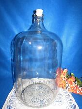 New listing 6 Gallon Glass Carboy Fermenter For Homebrew Made In Mexico W Rubber Stopper