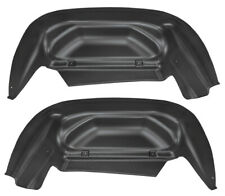 Husky Liners for 14-15 Chevy/GMC for Silverado/Sierra Black Rear Wheel Well Guar