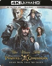 PIRATES OF THE CARIBBEAN : DEAD MEN TELL NO (4K ULTRA HD) - Blu Ray -Region free