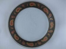 """PAISLEY by ANNIEGLASS Studio Glass 8 7/8"""" Salad / Luncheon Plate 11 Available"""