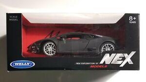 Voiture Lamborghini Hurican Coupé Matte Black 1:24
