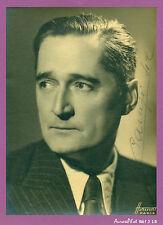 STUDIO HARCOURT : ANDRÉ GASTON BAUGÉ, ARTISTE OPÉRA-COMIQUE,1942, DÉDICACE -J15