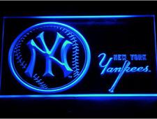 New Custom New York Yankees LED Neon Light Signs Bar Man Cave 7 colors u pick