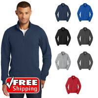 Fan Favorite  Pullover Sweatshirt Mens Fleece 1/4-Zip Spun Cotton Blend PC850Q