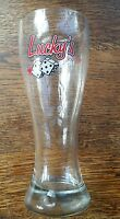 Vintage Lucky's Lounge Beer Glass 20 oz.