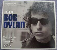 THE REAL BOB DYLAN 3 x CD 2012 Sony Columbia AMERICAN FOLK Singer Songwriter