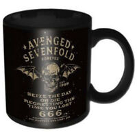 Taza Original Avenged Sevenfold Introvabile Oficial Idea de Regalo Heavy Metal