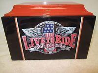 316 FRP Live to Ride Biker Funeral Adult Cremation Urn