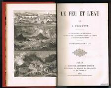 PIZZETTA LE FEU ET L'EAU HENNUYER 1884 FRONTISPICE TBE