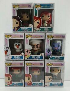 Disney The Little Mermaid Funko Pop Vinyl Set (545 563 564 565 566 567 568 740)