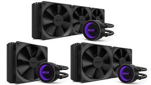 NZXT Kraken RGB CPU Liquid Cooler AIO M22/X42/X52/X62/X72/X53/X63/X73