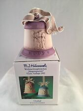 "Hummel Christmas Bell ""Harmony in Four Parts"" 4th Edition 1992 Goebel w/Box"