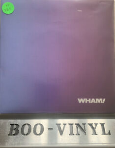 "Wham/Edge Of Heaven/1986 Epic Gatefold 2x 7"" Single/George Michael Ex Con Superb"