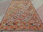 Vintage Turkish Nomads Rug  Wool Kilim  Teppich 70 x117  Area Rugs  Kelim Carpet