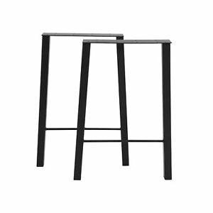 """30"""" Iron Industry Style Table Legs, for Office Desks, Dining Tables Furniture US"""