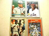 1990 UPPER DECK ROOKIE AND STAR CARDS LOT SAMMY SOSA MINT CHICAGO WHITE SOXS